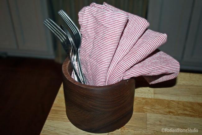 Sew Handmade Cloth Napkins | Radiant Home Studio