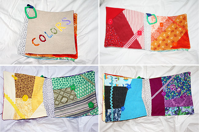 Fabric Baby Book Colors | Radiant Home Studio