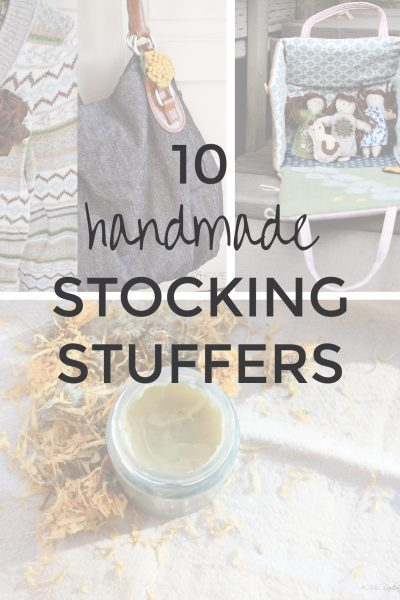 10 Handmade Stocking Stuffer Ideas | Radiant Home Studio