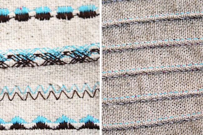 Woven Twin Needle Use | Radiant Home Studio
