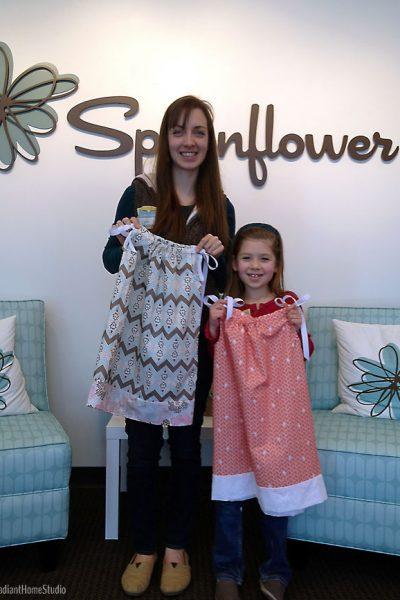 Spoonflower Pillowcase Dresses   Radiant Home Studio