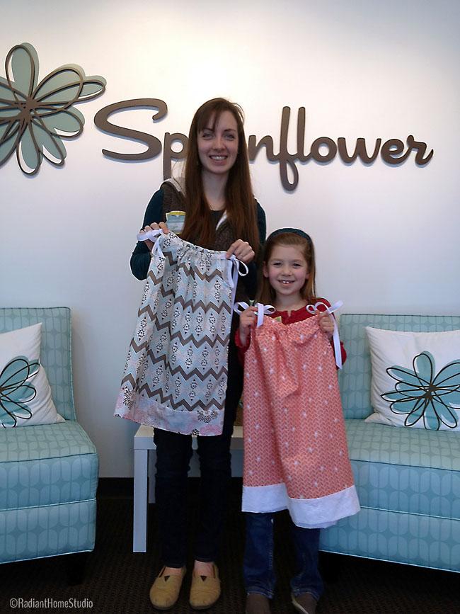 Spoonflower Pillowcase Dresses | Radiant Home Studio