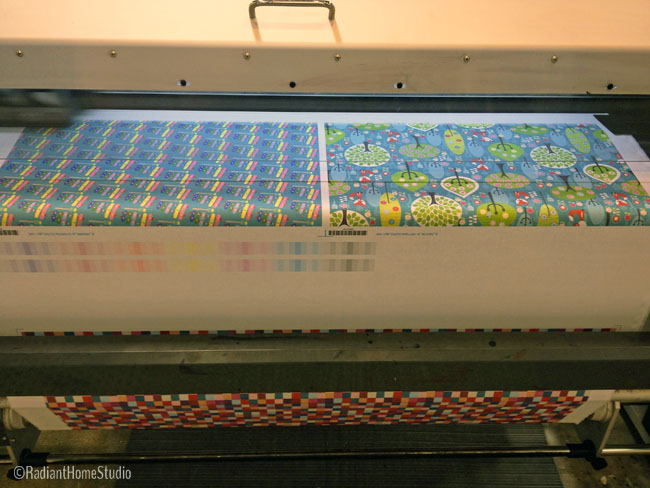 Spoonflower Fabric Printing  | Radiant Home Studio