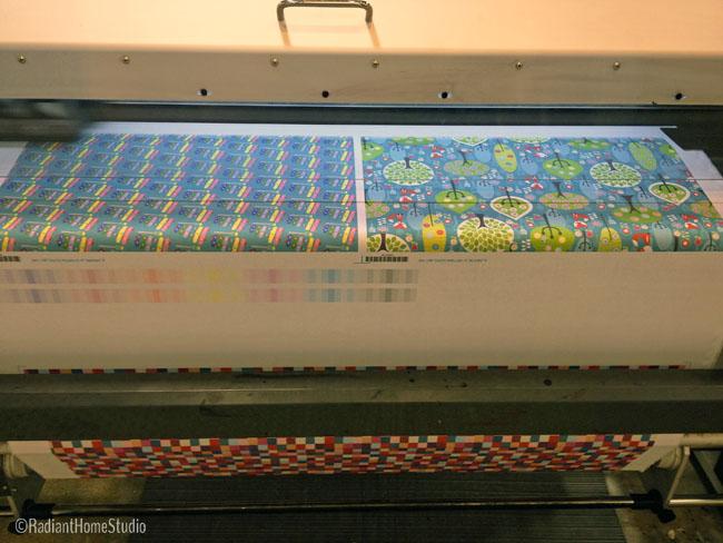 Spoonflower Fabric Printing  | Radiant Home Studio