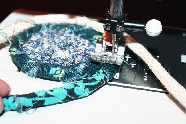 Sewing Scrappy Fabric Bowls | Radiant Home Studio