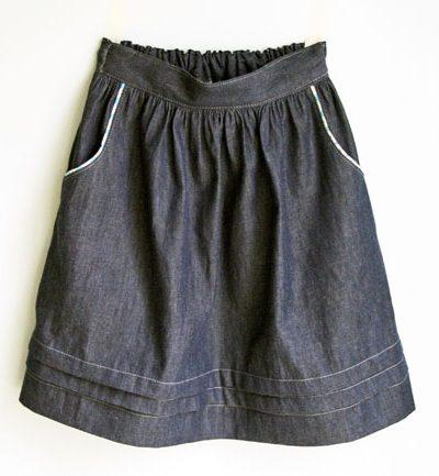 Paris Skirt with Pockets   Radiant Home Studio