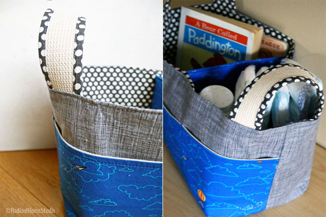 Noodlehead Divided Basket Lisette | Radiant Home Studio