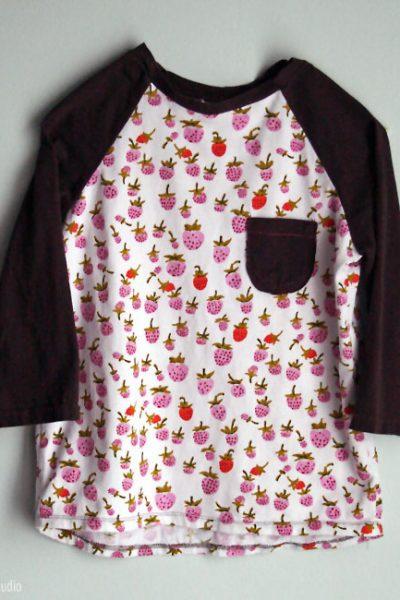 Oliver + S Raglan T shirt | Radiant Home Studio