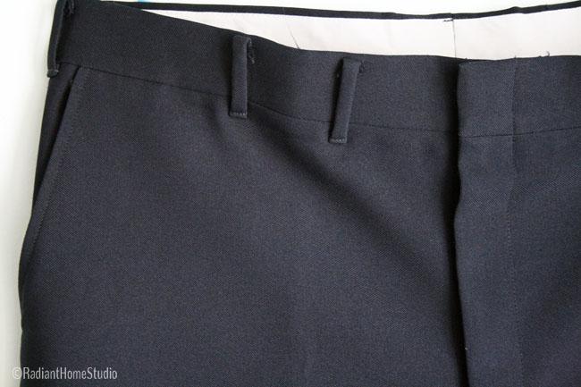 Vintage Trouser Belt Loops | Radiant Home Studio