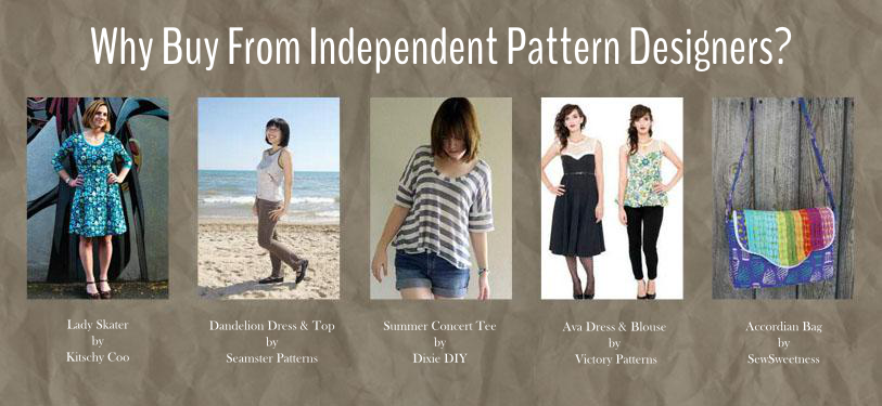 Independent Pattern Designers | Perfect Pattern Parcel #1 | Radiant Home Studio