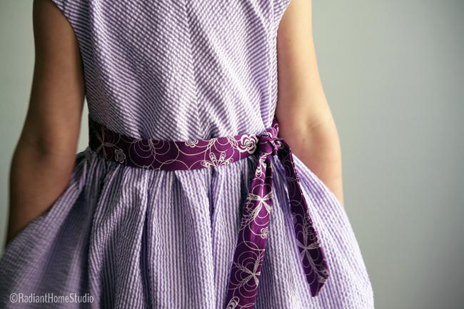 Caroline Party Dress front   Pattern Parcel 2   Radiant Home Studio
