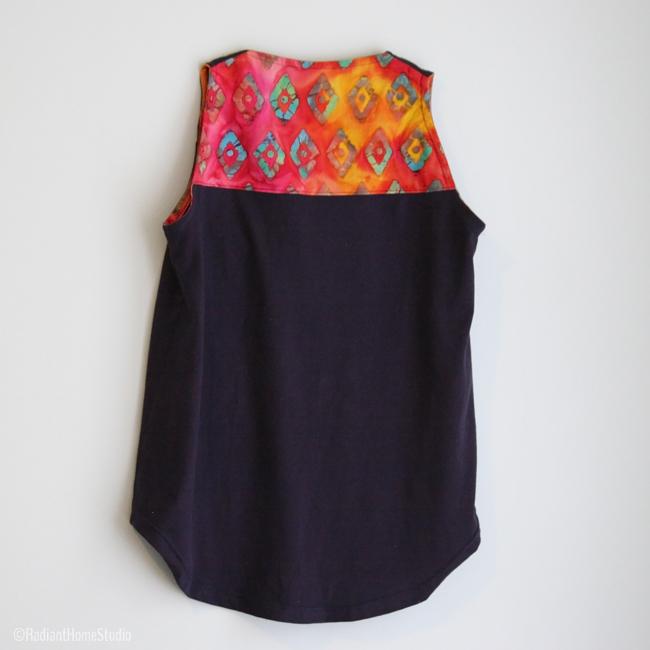 Jersey Knit Wiksten Tank | Batik Back| Radiant Home Studi