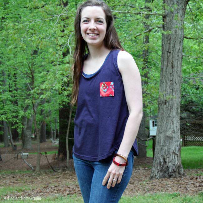 Jersey Knit Wiksten Tank | Radiant Home Studi