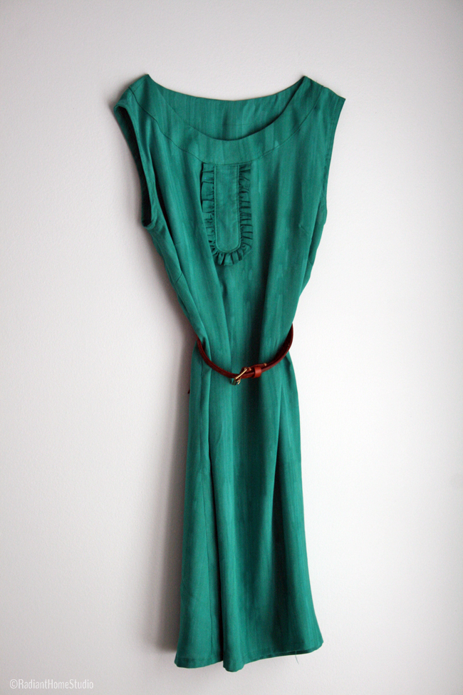 Emerald Market Dress | Radiant Home Studio