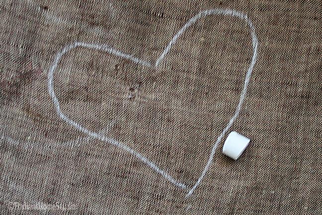 Fabric Scrap Embroidery Tutorial {Heart Wall Art} | Radiant Home Studio