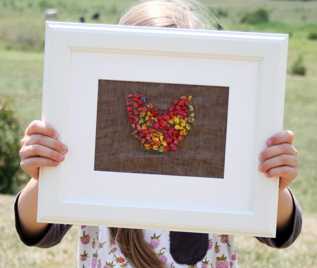 Fabric Scrap Embroidery {Heart Wall Art}   Radiant Home Studio
