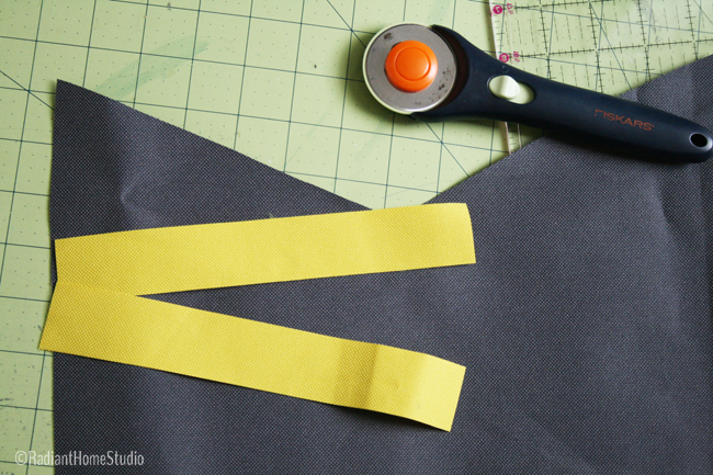 Sew Flat Piping on a Bag | Radiant Home Studio