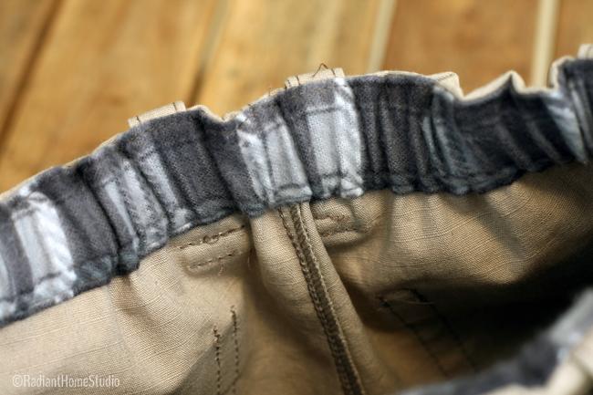 Field Trip Cargo Pants | Waistband | Radiant Home Studio