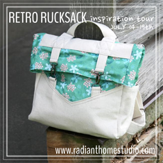 Retro Rucksack Inspiration Tour | Radiant Home Studio