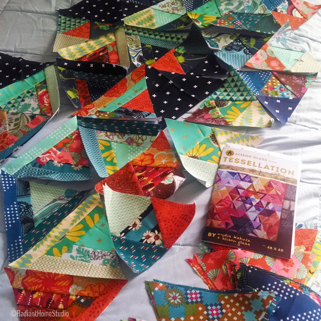 Tessellation Quilt Block | Foundation Paper Piecing | Radiant Home Studio