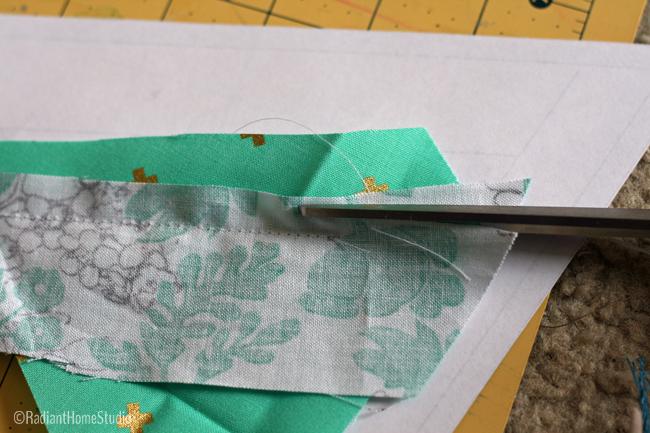 Tessellation Quilt Block   Foundation Paper Piecing   Radiant Home Studio