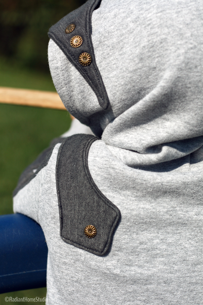 Knight Hoodie by Charming Doodle | Radiant Home Studio