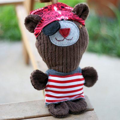 Pete The Pirate Bear | Radiant Home Studio