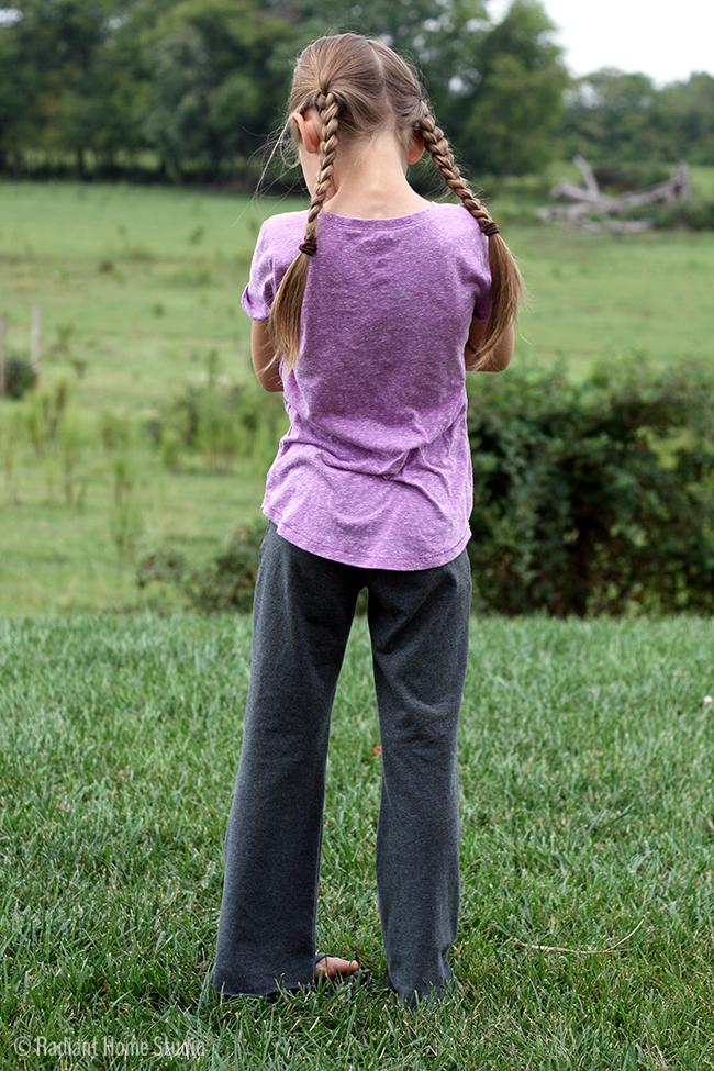 GreenStyle Yoga Pants | Pattern Parecel 5 | Radiant Home Studio