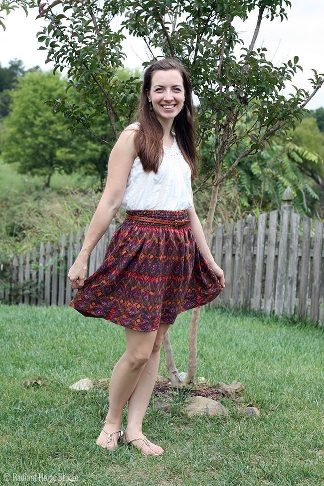 "Autumn ""Flirting the Issue"" Skirt 