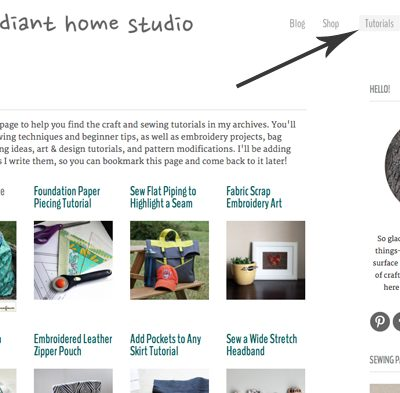 Tutorials Page| Radiant Home Studio