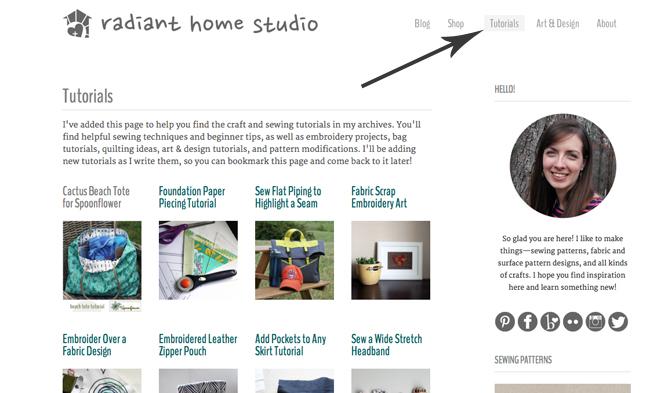 Tutorials Page| Radiant Home Studio