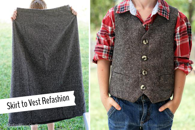 School Boy Vest | Radiant Home Studio