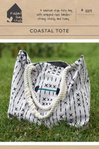 Coastal Tote Pattern | Radiant Home Studio