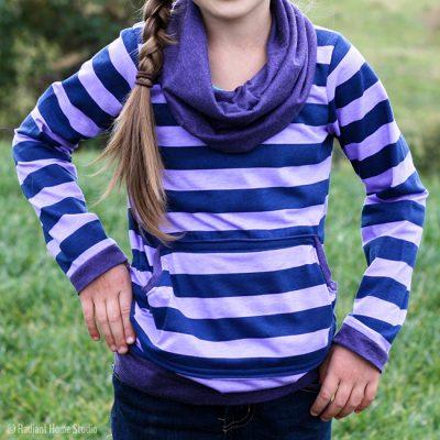 Striped Bimaa Shirt | Radiant Home Studio