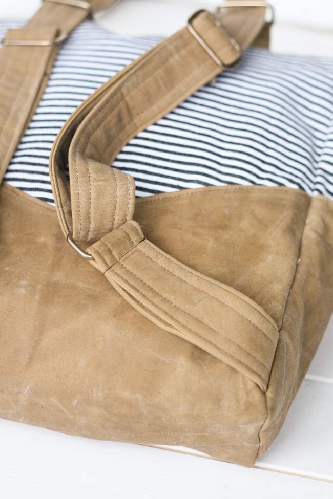 Waxed Canvas Retro Rucksack | Radiant Home Studio