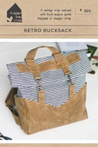Retro Rucksack Sewing Pattern | Radant Home Studio