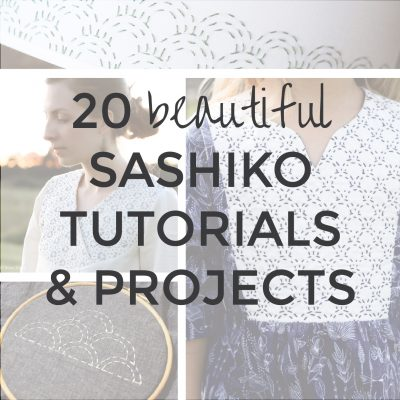 20 Best Sashiko Projects & Tutorials | Radiant Home Studio