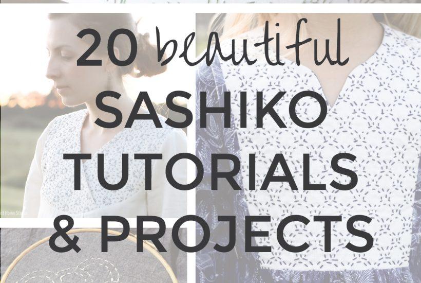 20 Best Sashiko Projects & Tutorials | Radiant Home Studio