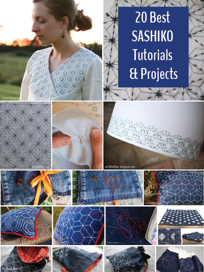 Sashiko Embroidery Tutorials and Projects | Radiant Home Studio