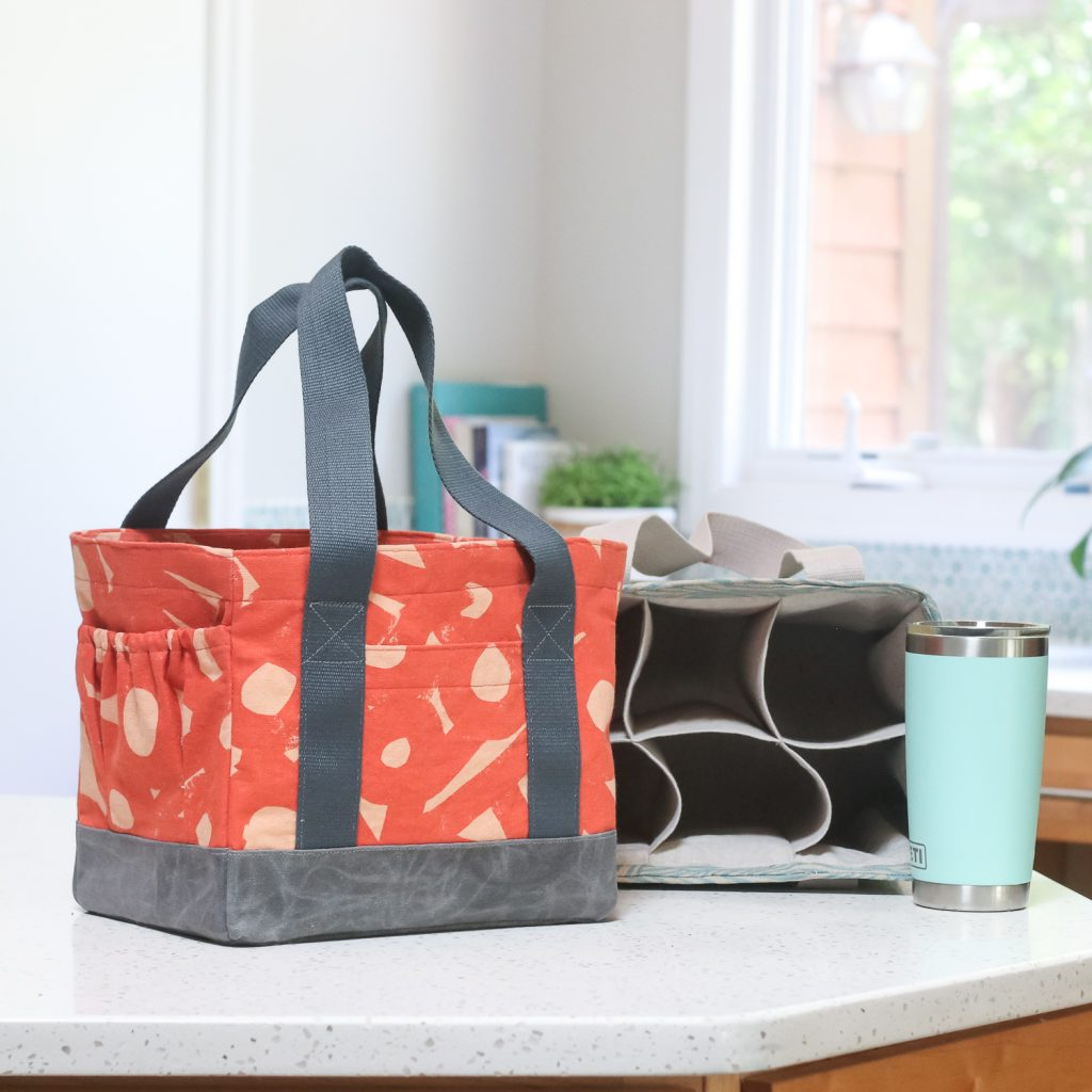 Webster Water Bottle Tote | Radiant Home Studio