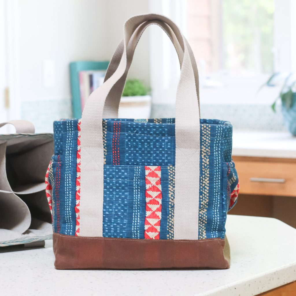 Webster Water Bottle Tote | Radiant Home Studio | Art Gallery Fabrics