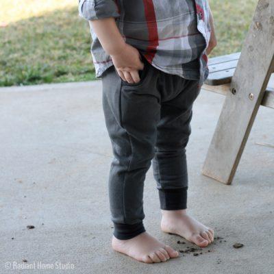 Mini Hudson Pants Pattern | Radiant Home Studio