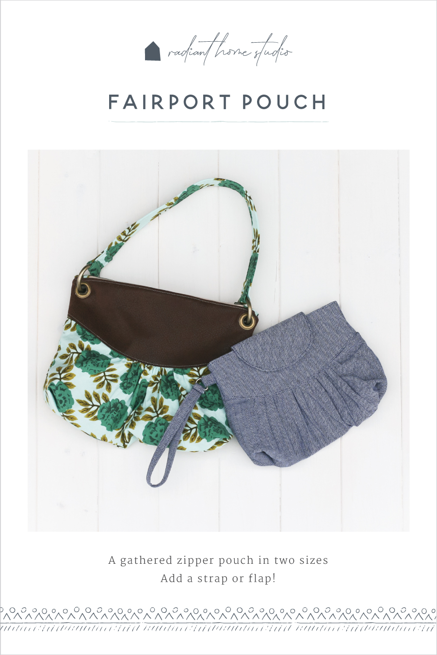Fairport Purse & Pouch | Radiant Home Studio