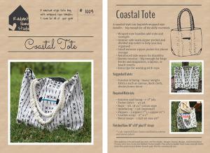 Coastal Tote PDF Sewing Pattern | Radiant Home Studio