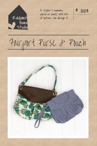 Fairport Purse & Pouch PDF Pattern | Radiant Home Studio