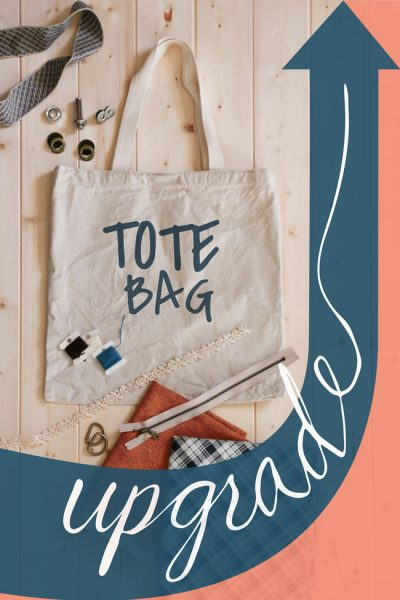 Tote Bag Upgrade | New Monthly Series | Learn Bag Making Skills | Radiant Home Studio