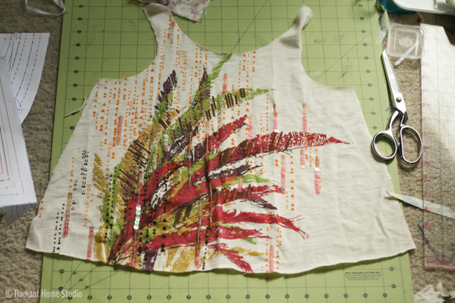 Upcycled LOL Swing Top | Sewing Pattern by Jennuine Designs | Radiant Home Studio