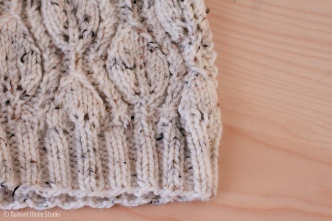 Knitting Patterns Maple Leaf Hat : Cascade Leaf Hat Pattern Review Radiant Home Studio