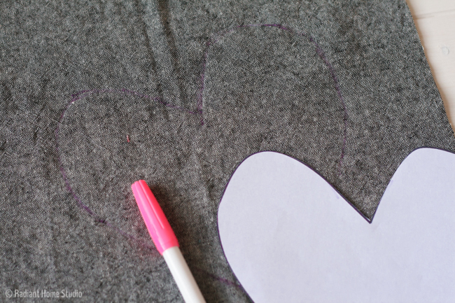Patchwork Heart Zipper Pouch Tutorial   Radiant Home Studio