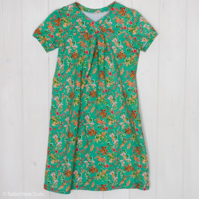 Priory Square Hopscotch Dress   Oliver + S  Radiant Home Studio